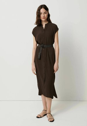 QUITO - Shirt dress - nougat