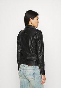 Deadwood - RIVER ORIGINAL - Leather jacket - black - 2