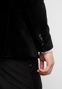 Selected Homme - SLHSLIM-HICKVELVET  - Sako - black - 6