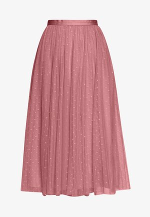 KISSES MIDAXI SKIRT EXCLUSIVE - Spódnica trapezowa - pink