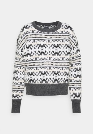 CREW NUETRAL FAIRISLE - Jumper - neutral fairisle print
