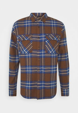 BOWERY - Chemise - washed brown/mineral blue