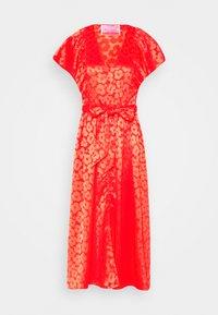 kate spade new york - POPPY FIELD JACQUARD DRESS - Day dress - red - 0
