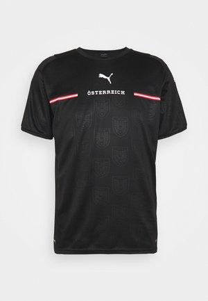 ÖSTERREICH ÖFB AWAY REPLICA - T-shirts print - black