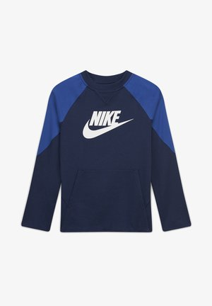 Sweatshirt - midnight navy/white