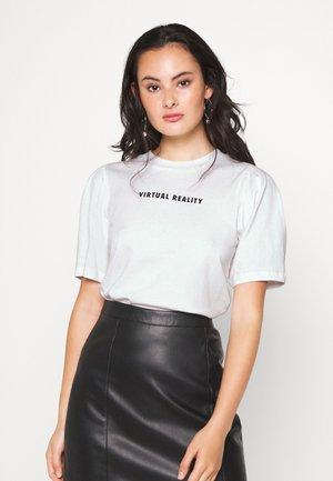 NORA - Camiseta estampada - off-white