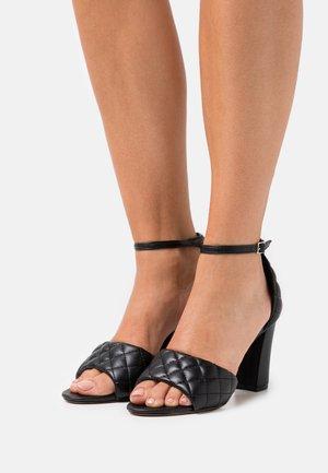 BLENND - Sandály na vysokém podpatku - black paris