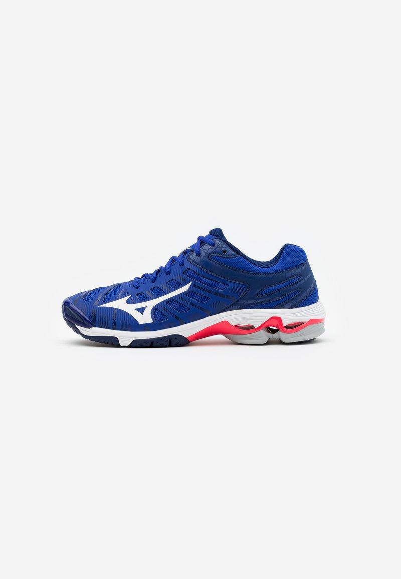 Mizuno - WAVE VOLTAGE - Volleyball shoes - reflex blue/white