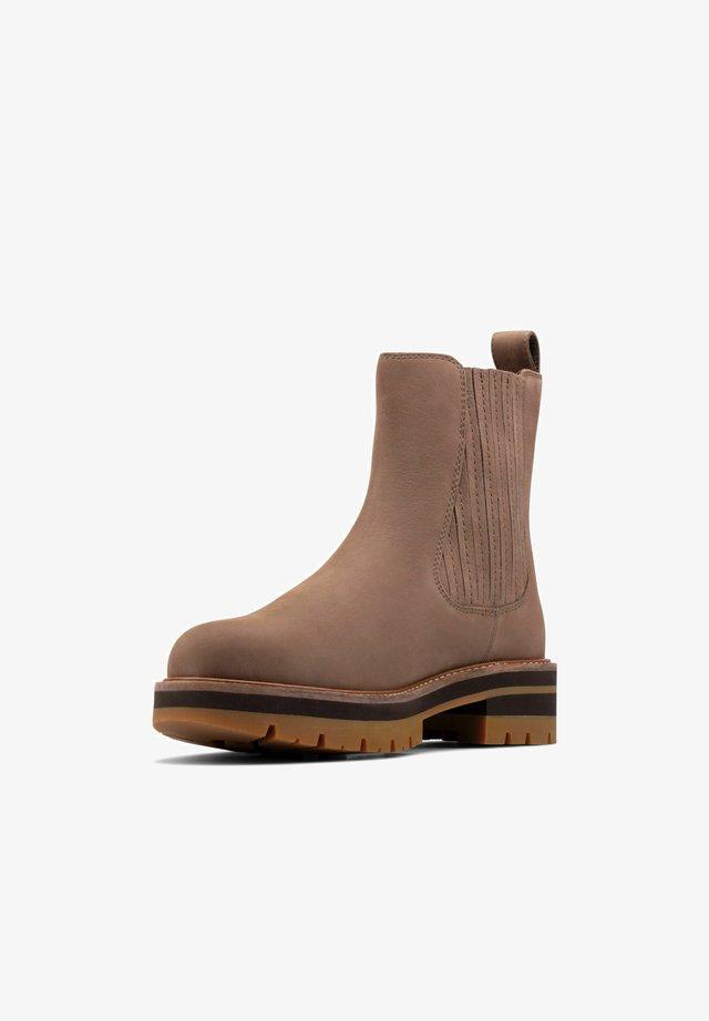 Ankle boots - pebble nubuck