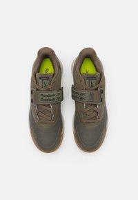 Reebok - LIFTER PR II - Sports shoes - army green/modern beige - 3