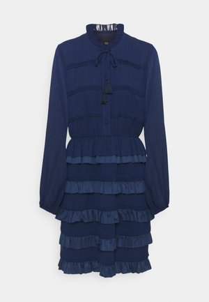 DIVINE DARLING DRESS - Shirt dress - navy blue