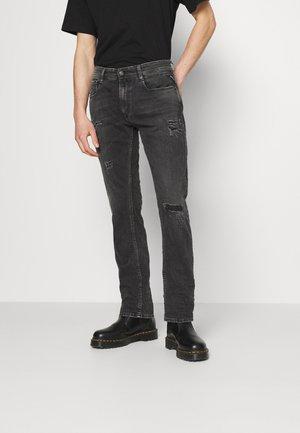 ROCCO BIO - Jeans straight leg - black denim