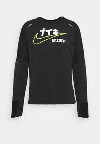 Nike Performance - SPHERE ELEMENT CREW EKIDEN - Sweatshirts - black/cyber - 4