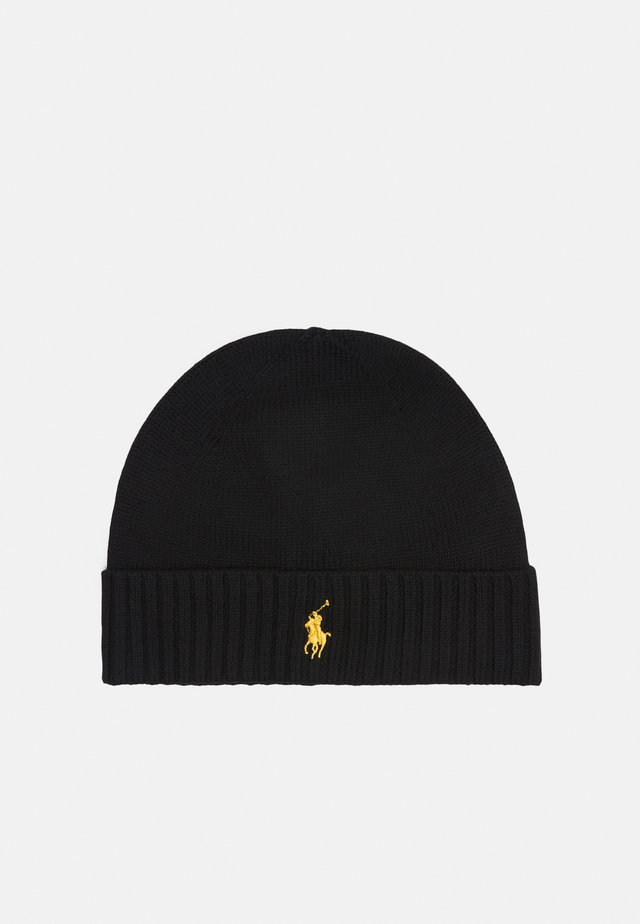 HAT - Bonnet - black/gold-coloured