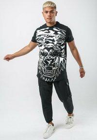 Ed Hardy - BIG-TIGER T-SHIRT - Print T-shirt - black - 1