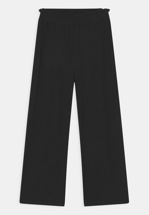 SOLID PAPINA - Trousers - black