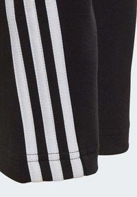 adidas Performance - 3 STRIPES ATHLETICS SPORTS REGULAR PANTS - Spodnie treningowe - black - 8