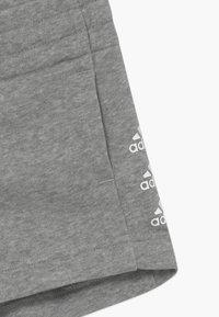 adidas Performance - SHORT - Sports shorts - medium grey heather/white - 3