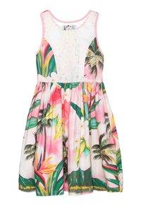 Desigual - MORELIA - Jersey dress - rosa palido - 1