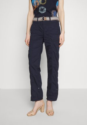 PLAY PANTS - Trousers - navy