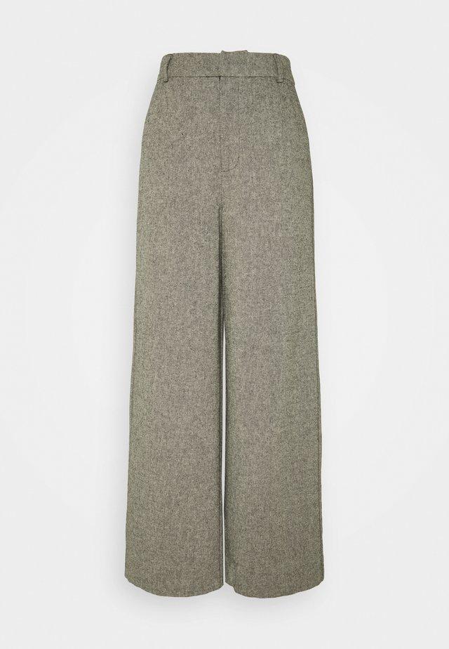 LIDAGZ  - Trousers - black/white