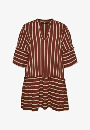 Vestido informal - sable