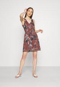 Vero Moda - VMWONDA NEW SINGLET SHORT DRESS - Day dress - rose/brown - 1