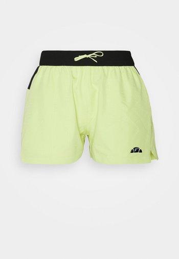 OLINA SHORT - Pantaloncini sportivi - light green