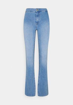 ONLBLUSH LIFE CLEAN - Široké džíny - light blue denim