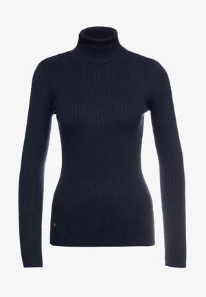 TURTLE NECK - Jumper - navy