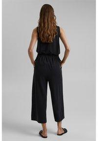 Esprit - CULOTTE - Trousers - black - 3