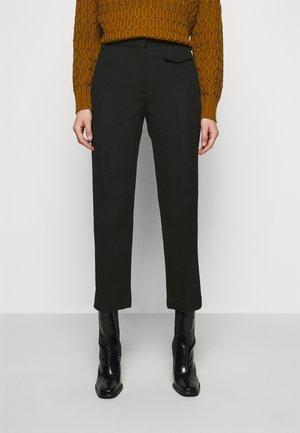 PENELOPE TROUSER - Kalhoty - black
