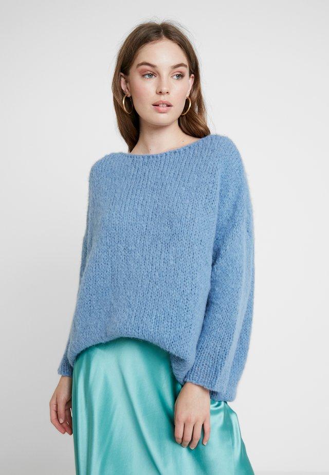 BOOLDER - Pullover - bleu horizon