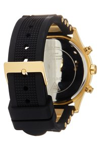 Guess - LADIES SPORT - Hodinky - black/gold-coloured - 1
