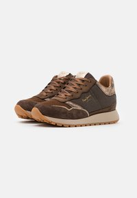 Pepe Jeans - DEAN NASS - Baskets basses - chocolate - 2