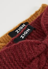 Zign - 2 PACK - Ear warmers - nude/bordeaux - 2