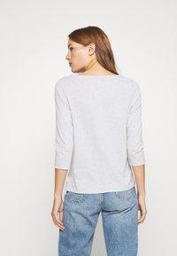 Calvin Klein - 3/4 BOATNECK  - Top sdlouhým rukávem - light grey heather - 2