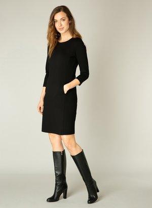 YLONA - Jumper dress - black