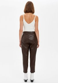 DeFacto - Trousers - brown - 2