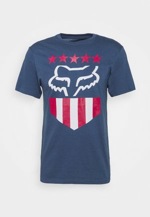 FREEDOM SHIELD TEE - T-Shirt print - light indigo