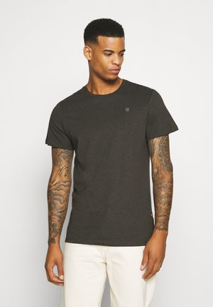 BASE-S R T S\S - Basic T-shirt - asfalt htr