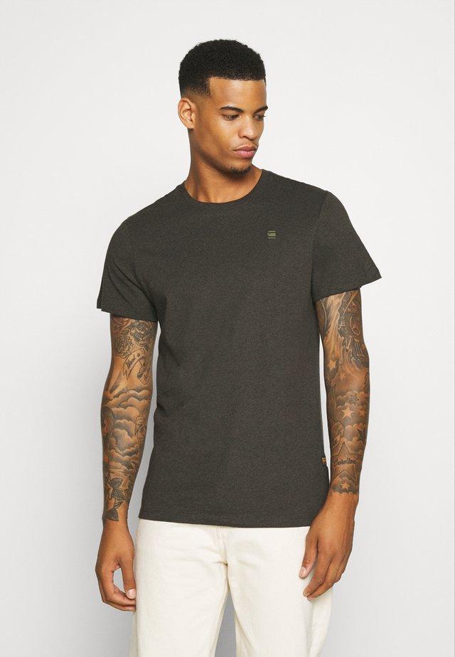 BASE-S R T S\S - T-shirt basic - asfalt htr