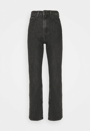 ROWE NEW SPLIT - Straight leg jeans - new black