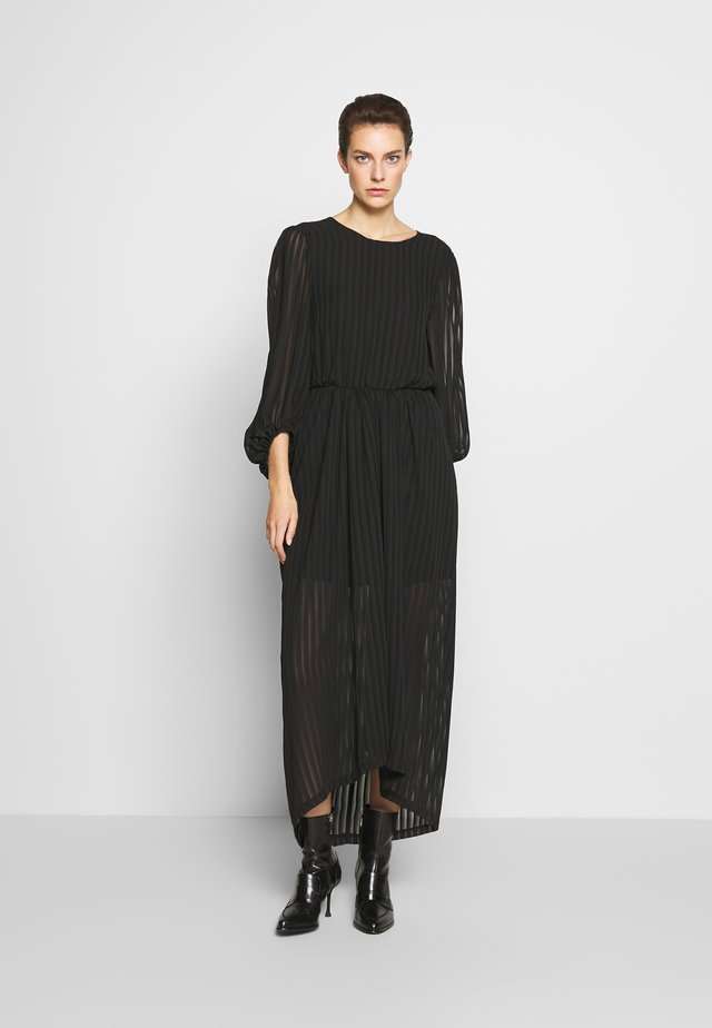CORINNE LONG DRESS - Maksimekko - black