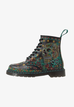 1460 DOTD - Lace-up ankle boots - multicolor