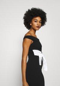 WAL G. - BARDOT BAND DRESS - Suknia balowa - black - 3