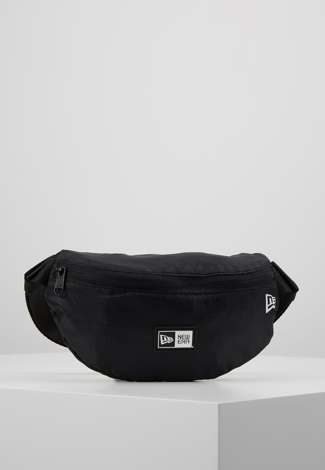 KIDS WAISTPACK LIGHT - Rumpetaske - black/optic white
