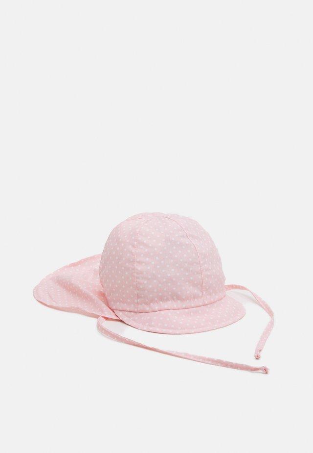 MINI GIRL - Bonnet - zartrosa/weiß