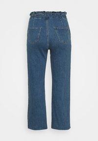 Simply Be - WIDE LEG - Jeans baggy - vintage blue - 1