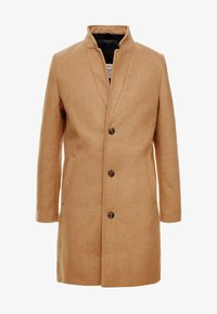 TOM TAILOR DENIM - Classic coat - hay beige/brown - 4